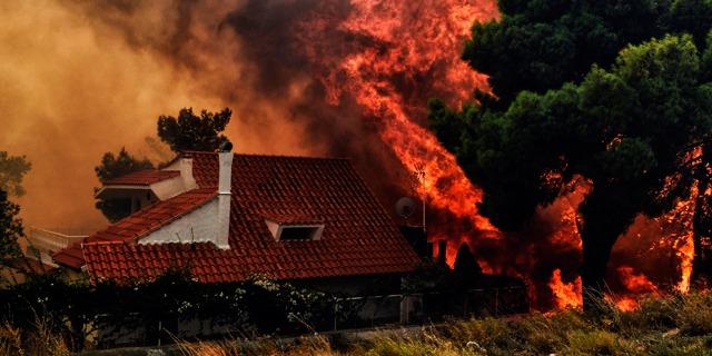 Fires in Greece
