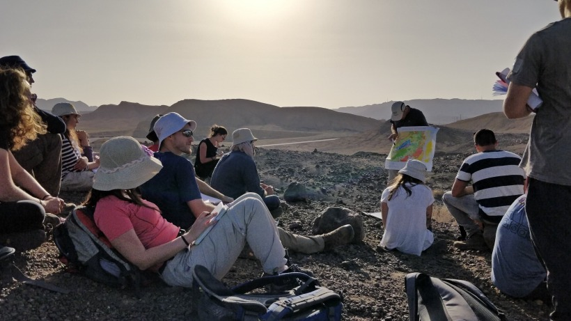 Geology field course